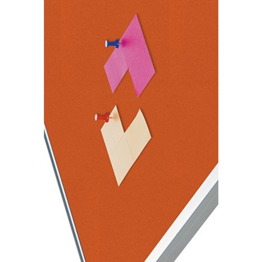 Prikbord Bulletin Oranje Kurklinoleum-2