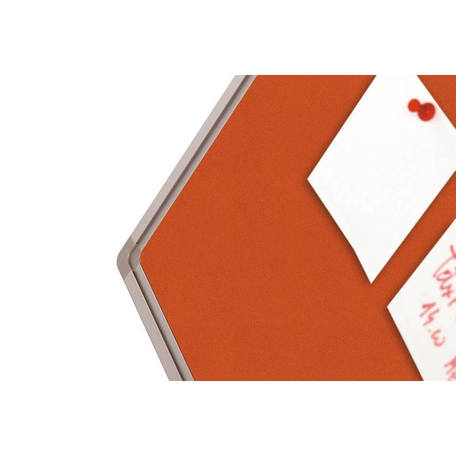 Prikbord Bulletin Oranje Kurklinoleum-3