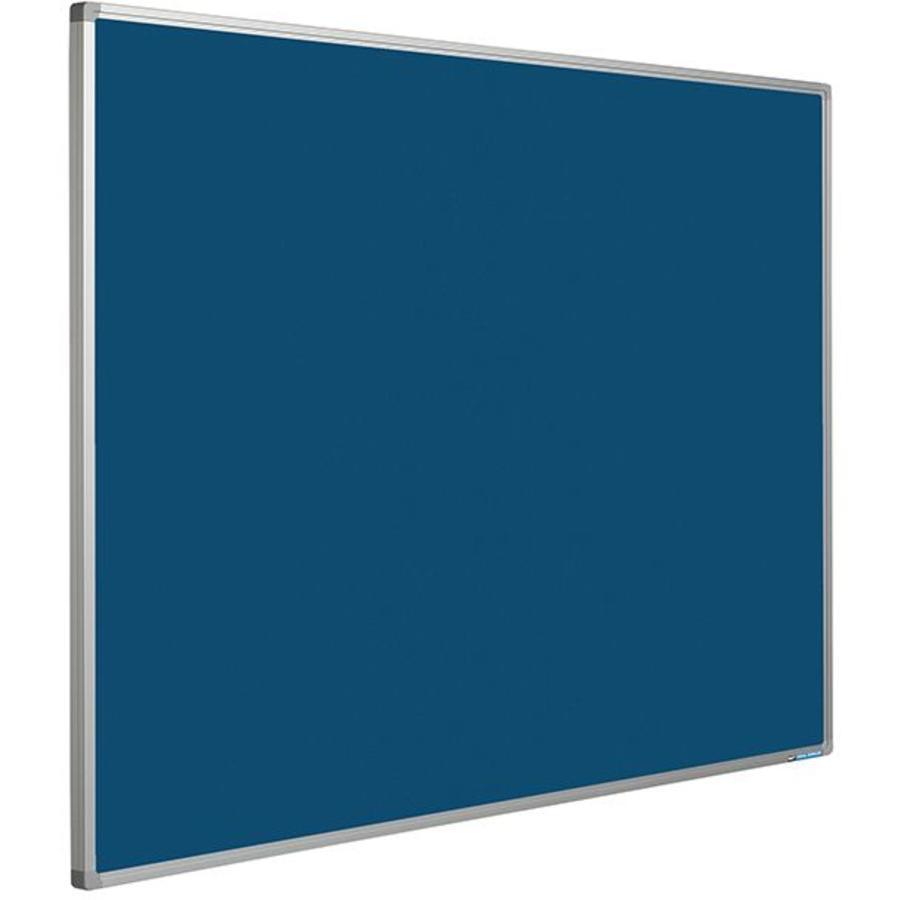Prikbord Bulletin Blauw Kurklinoleum-1