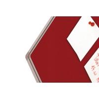 thumb-Prikbord Bulletin Rood Kurklinoleum-4