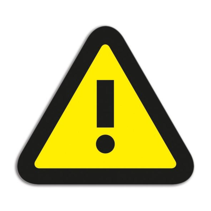Magneetfolie Symbool Attention-1