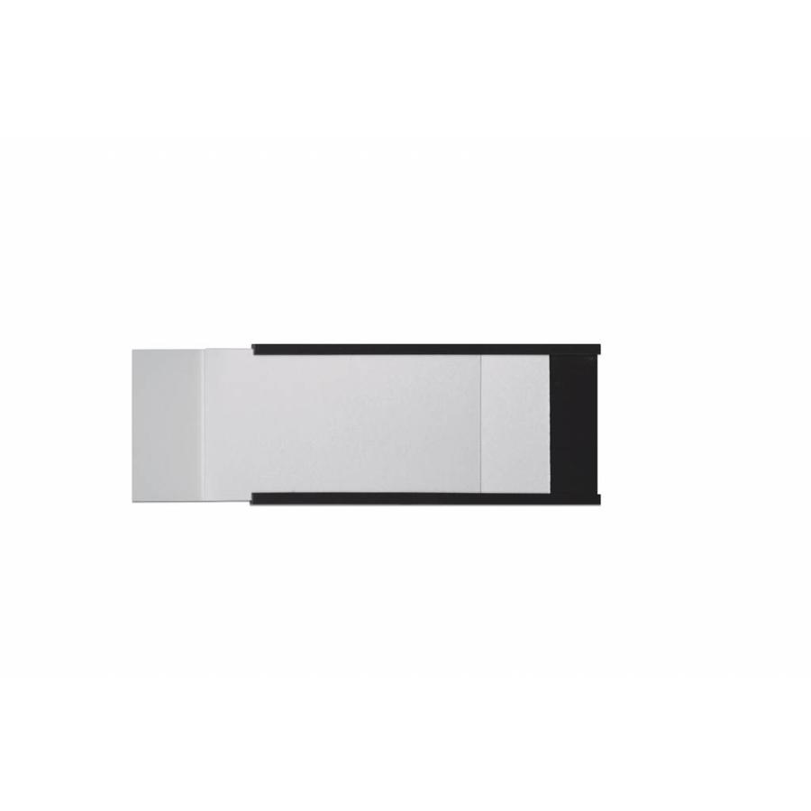 Magnetische etikethouder C-profiel, 50x150 mm.-1