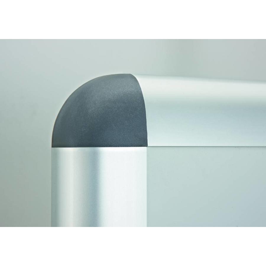 Buitenvitrine Rondo achterwand magnetisch met veiligheidsglas-2