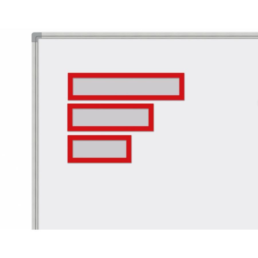 Set van 5 magnetische headers in rood en zwart-1