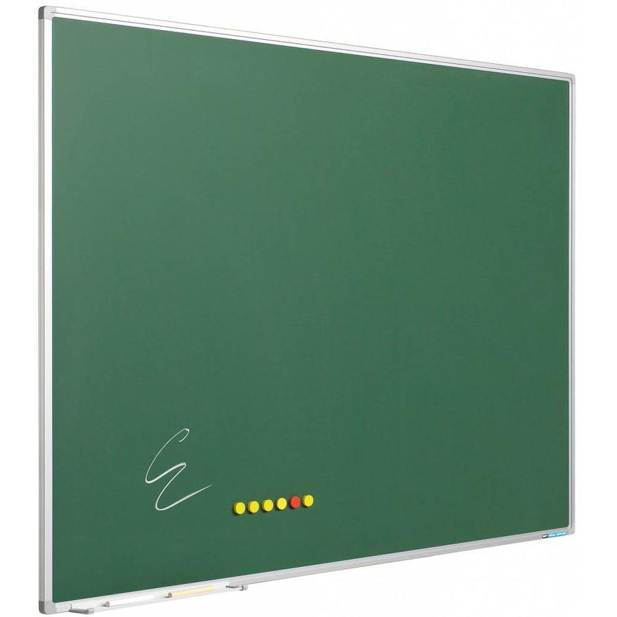 Krijtbord van groen emailstaal-1