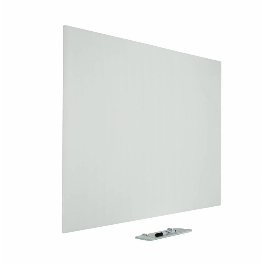 Stijlvol wit glasboard van gehard veiligheidsglas-1