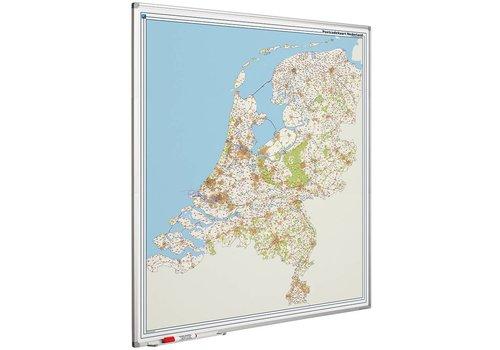 Postcode kaart Nederland en Softline profiel