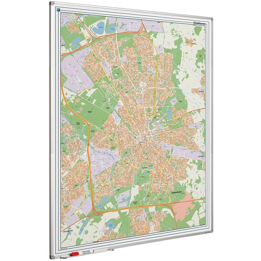 Plattegrond van Eindhoven-1