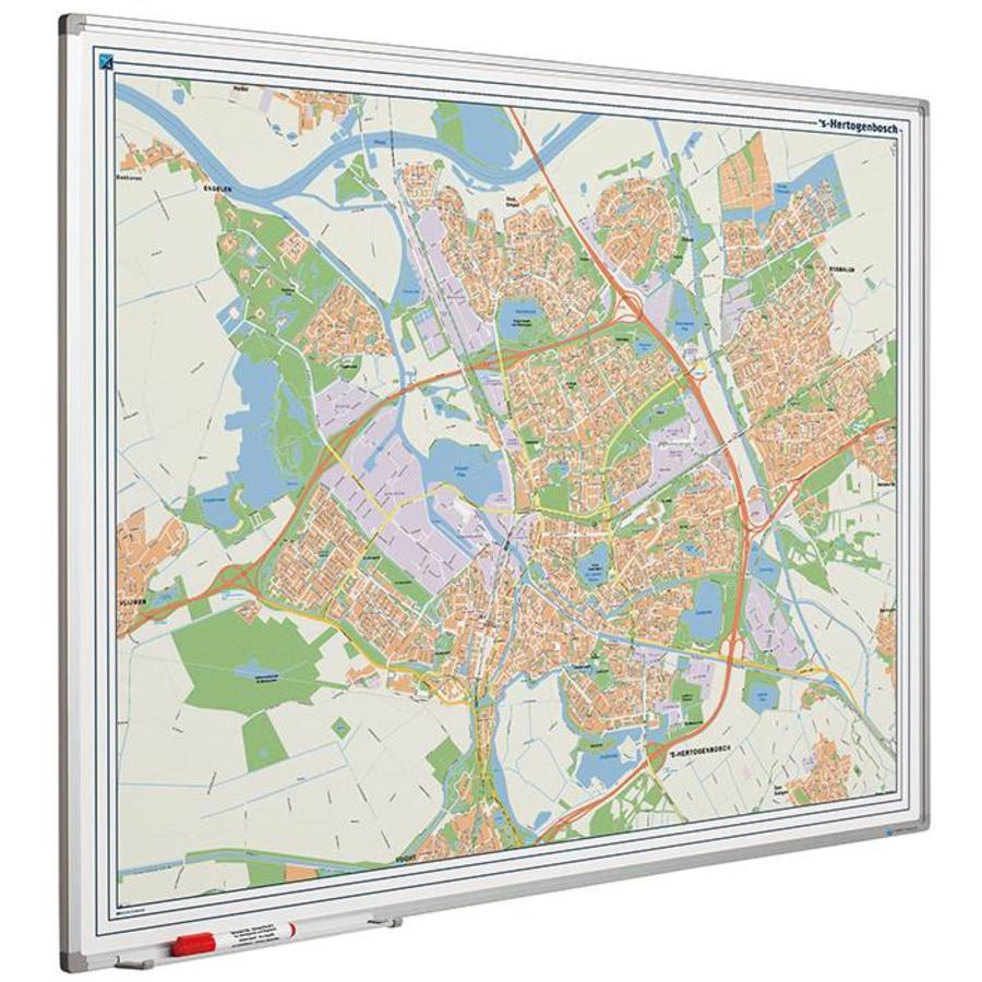 Plattegrond van Den Bosch-1