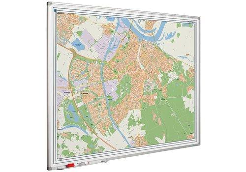 Plattegrond van Nijmegen