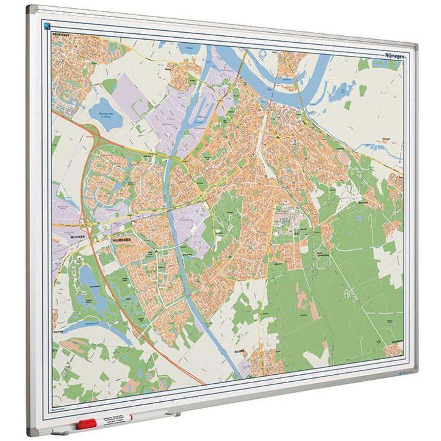 Plattegrond van Nijmegen-1