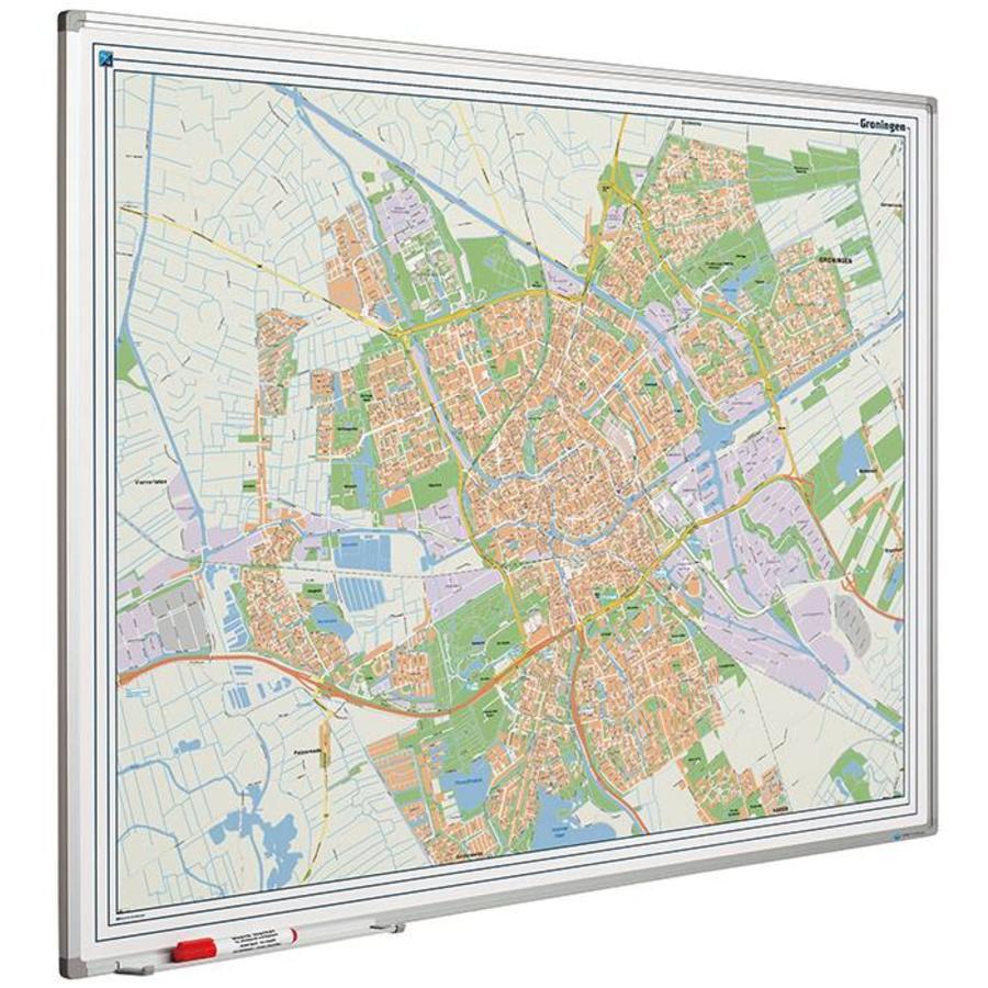 Plattegrond van de stad Groningen-1