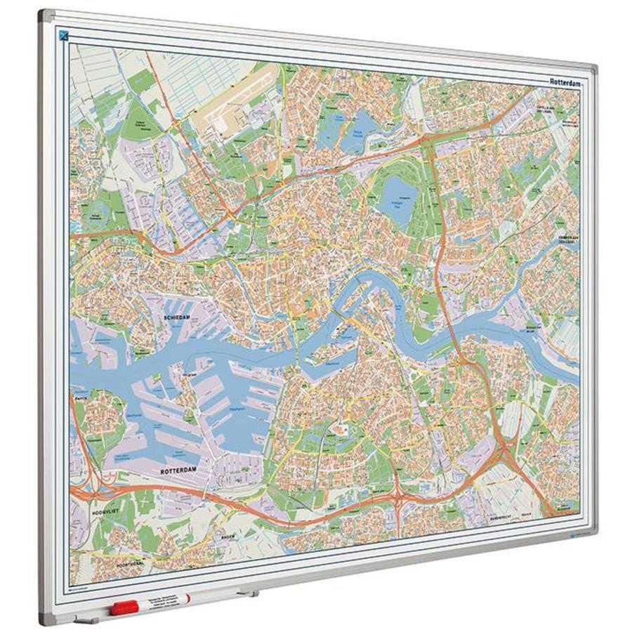 Plattegrond van Rotterdam-1