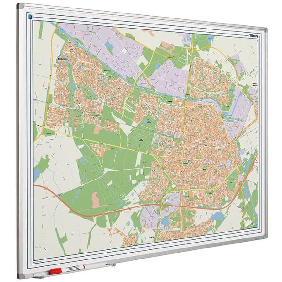 Plattegrond van Tilburg-1
