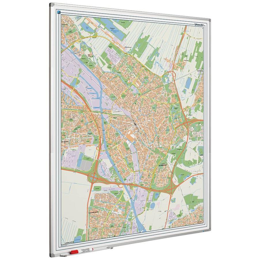 Plattegrond van de stad Utrecht-1