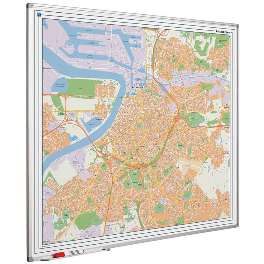 Plattegrond van Antwerpen-1