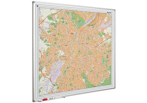 Plattegrond van Brussel