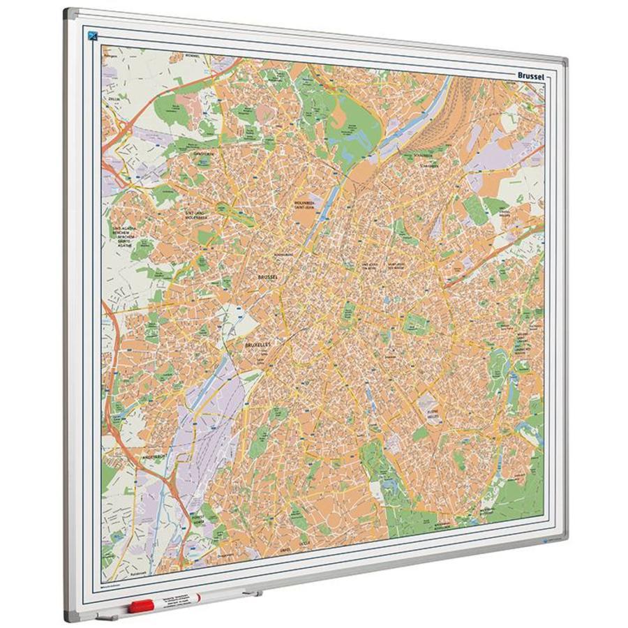 Plattegrond van Brussel-1