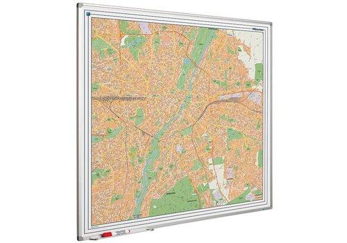 Plattegrond van München