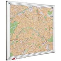 Plattegrond van Parijs