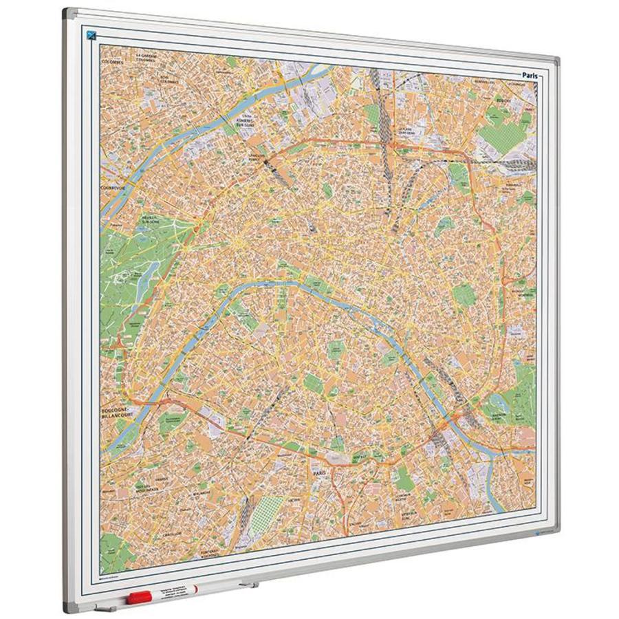 Plattegrond van Parijs-1