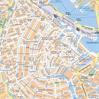 thumb-Plattegrond van Amsterdam op whiteboard-2