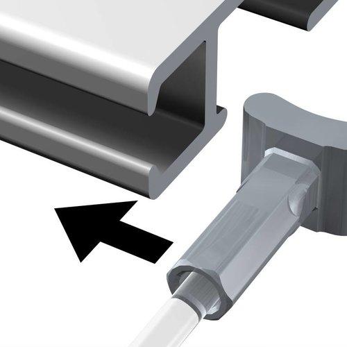 Solid Slider + koord 2 mm.