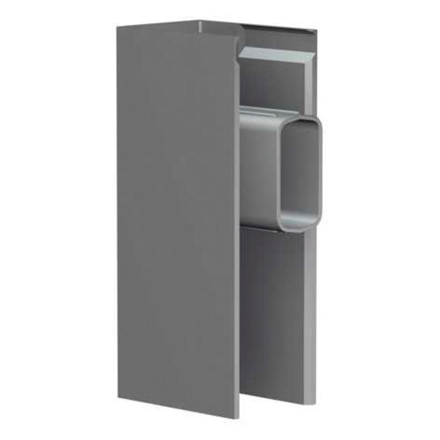 Eindkap Clickrail Pro aluminium-1