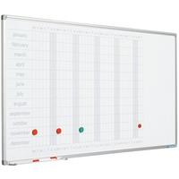 thumb-Planbord Jaarplanner weken horizontaal en maanden verticaal-1