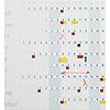 Smit-Visual Horizontale cijferstrips voor jaarplanner