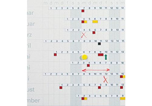 Cijferstrips  Jaarplanner