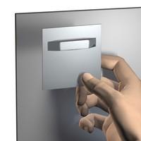 thumb-Fotohanger voor Dibond / Plexiglas / Acrylaat aan muur-4
