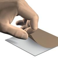 thumb-Fotohanger voor Dibond / Plexiglas / Acrylaat aan muur-3