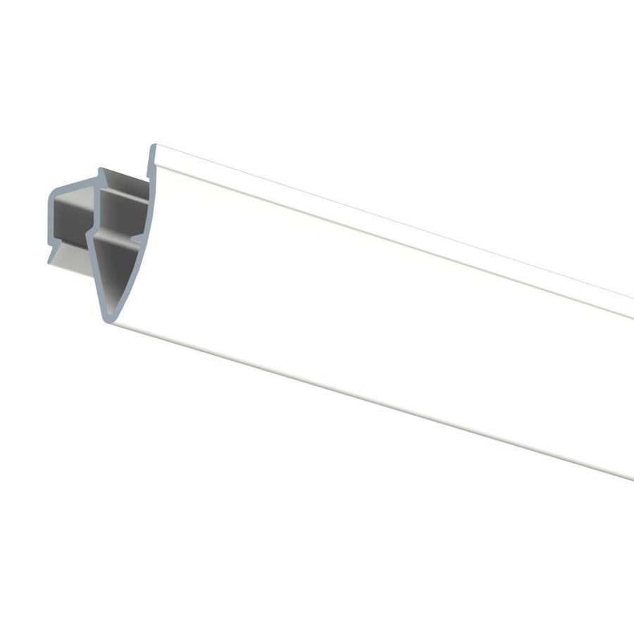 Artiteq Up Rail, overschilderbaar RAL 9016.  Voordeel van dit schilderij ophangsysteem is dat de gaten op flexibele afstand in het plafond geboord kunnen worden.-1