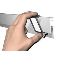 """thumb-Clips voor Info Rail """"Me"""" per 10 stuks-3"""