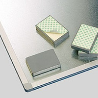 Whiteboard blokmagneten met schroefgat