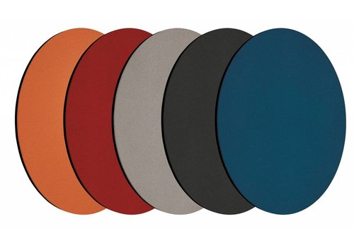 Chameleon prikbord rond 5 kleuren