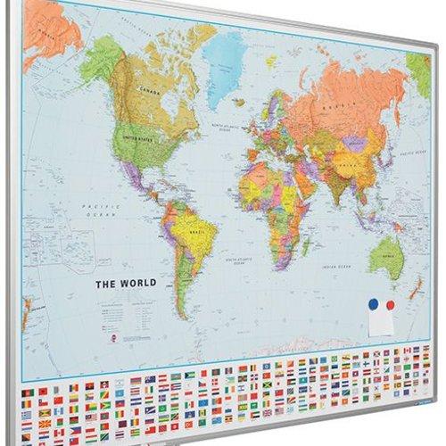 Land-  en wereldkaarten