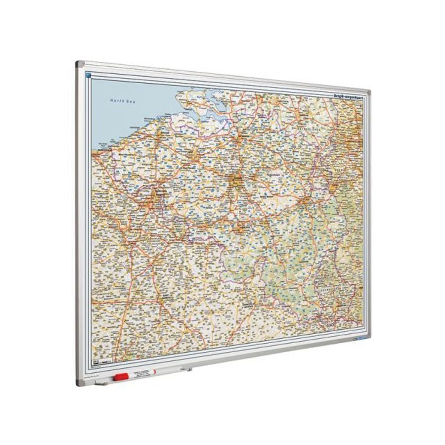 Wegenkaart Belgie en Luxemburg-1