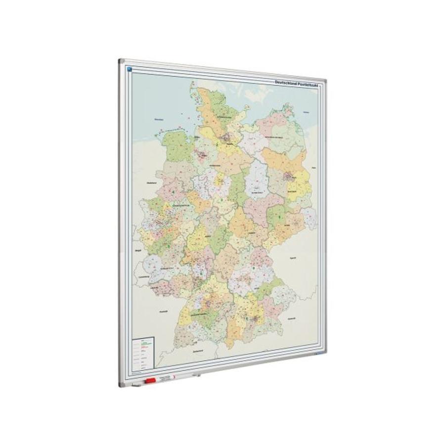 Wegenkaart van Duitsland op whiteboard-1