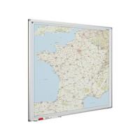 thumb-Landkaart van Frankrijk op whiteboard-1