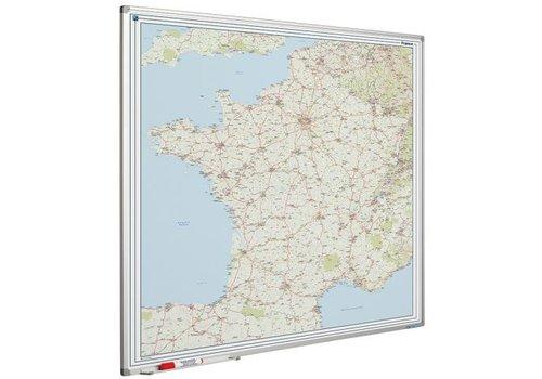 Wegenkaart Frankrijk en  Softline profiel
