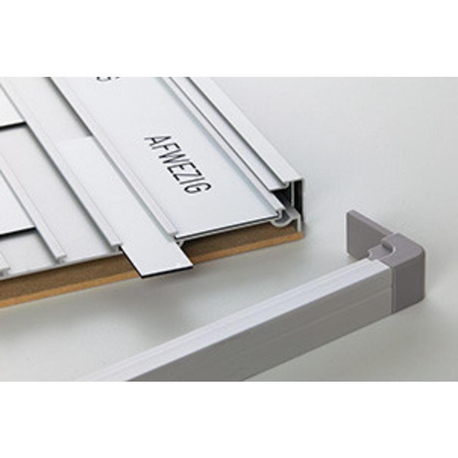 Set van 10 blanco naamplaatjes voor presentiebord-1