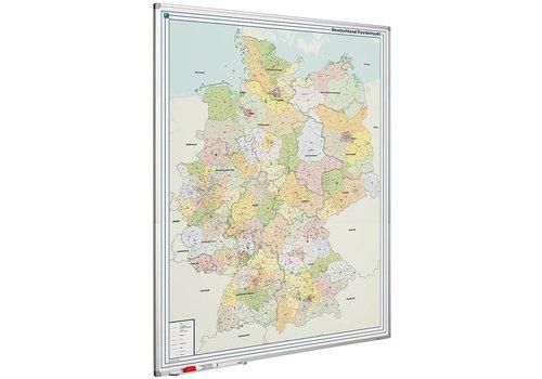Postcode kaart Duitsland en Softline profiel