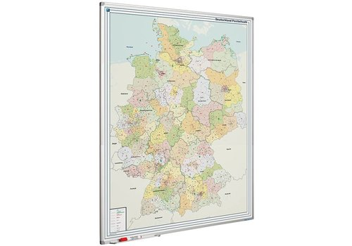 Postcode kaart Duitsland