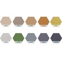 thumb-Chameleon Prikbord Zeshoekig  10 kleuren-1