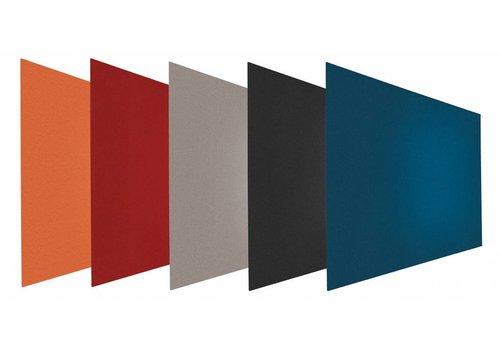 Chameleon prikbord rechthoek  5 kleuren