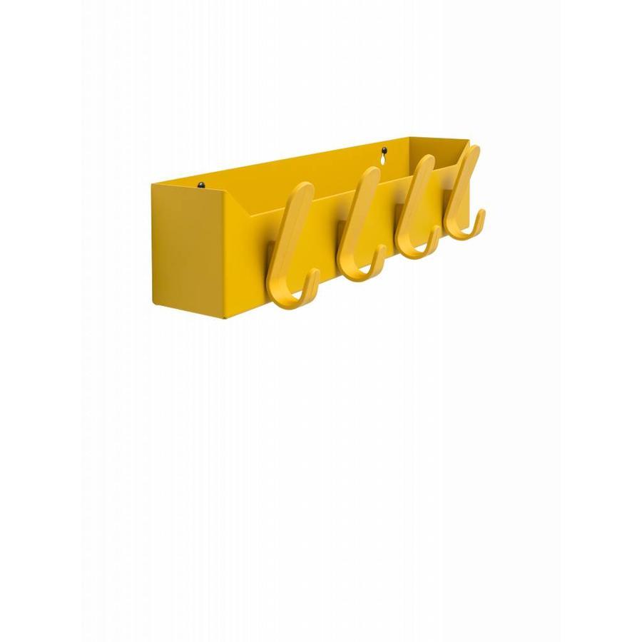 Wandgarderobe met opbergbox Krok Box 4 haken-5