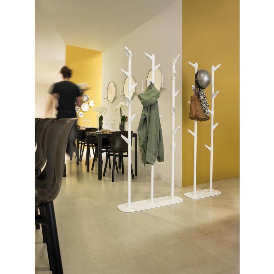 van Esch Slide G3 staande drie dubbele garderobe op standaard 18 haken-4
