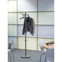 thumb-van Esch Tertio Sigitta+ Kapstok met 4 kledinghangers en parapluring-2